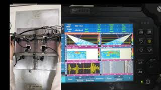 Συσκευή Υπερήχων SyncScan 2 32128 PR PAUT και 1 CH TOFD με Crawler UHTS X02