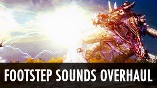 Skyrim Mod: Footsteps Sounds Overhaul