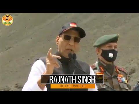 Rajnath Singh In Ladakh Reviews Military Readiness