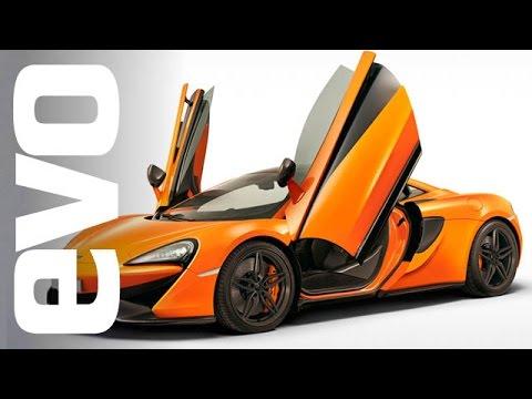 McLaren 570S at New York 2015   evo MOTORSHOWS
