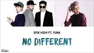 에픽하이 (Epik High) – No Different (Feat. Yuna) COLOUR CODED LYRICS