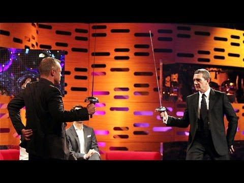 Antonio Banderas a šermování