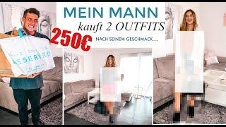 Mein MANN kauft mir 2 OUTFITS für 250€ ! (nach seinem Geschmack... 😨) | Maren Wolf