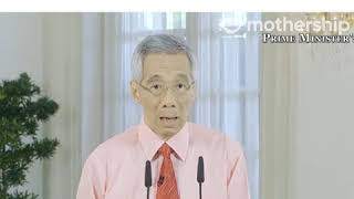 PM LEE: Most workplaces to close, schools and IHLs to conduct full home-based learning in Singapore