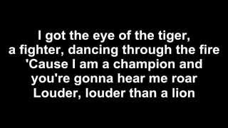 Roar - Katy Perry - LYRICS