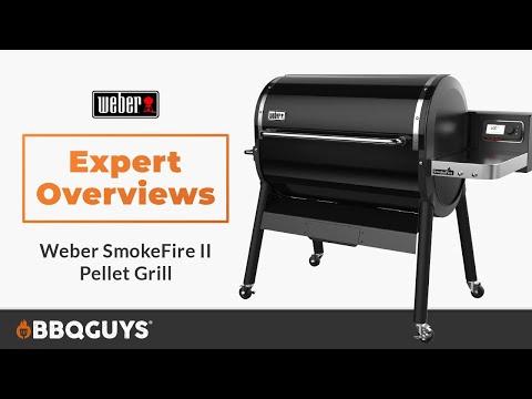 Weber SmokeFire Gen 2 Pellet Grill Overview | BBQGuys
