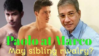 Mga anak ni Dennis Roldan na sina Marco at Paolo Gumabao may sibling rivalry?