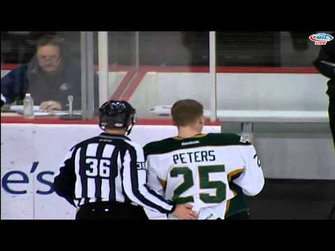 Travis Ewanyk vs. Taylor Peters