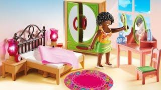 Barbie  Bedroom Playmobil Bedroom Dollhouse Furniture Toys/ Barbie Doll Bedroom
