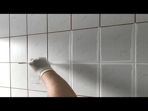 Fliesen Fugen umfärben - So wird das Badezimmer schön