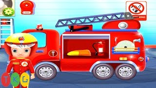 Xe Cứu Hỏa - Fire Truck for Kids | Fire Fighters | TopKidsGames