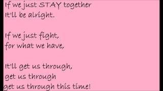 Lyrics Video- Stay Together