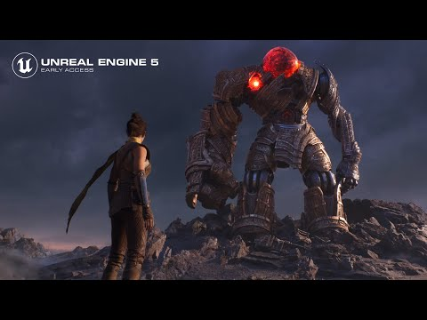 Welcome to Unreal Engine 5 Early Access de