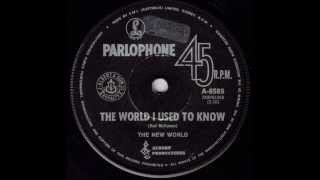 The New World - The World I Used To Know (Original 45)