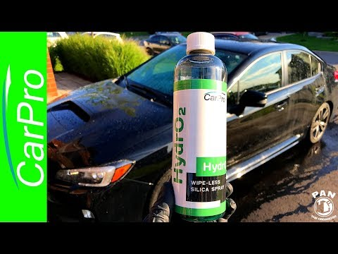 The Fastest Way To Wax A Car!  CarPro HydrO2 !!! (DEMO & REVIEW)