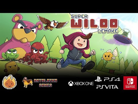 Super Wiloo Demake - Launch Trailer thumbnail