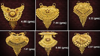 Latest Gold Pendents Designs With Weight & Price | Mangalasutra Pendents,chain Lockets