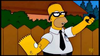 The Simpsons: Homer destroys the church [Clip]