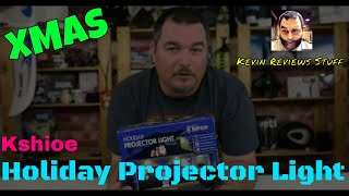 Kevin Reviews Stuff | Review of the Kshioe Holiday Projector Lamp