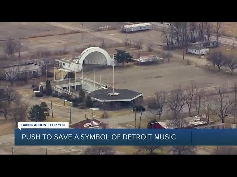 Petition calls to save bandshell at the old State Fairgrounds in Detroit