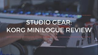 Studio Gear: Korg Minilogue Review