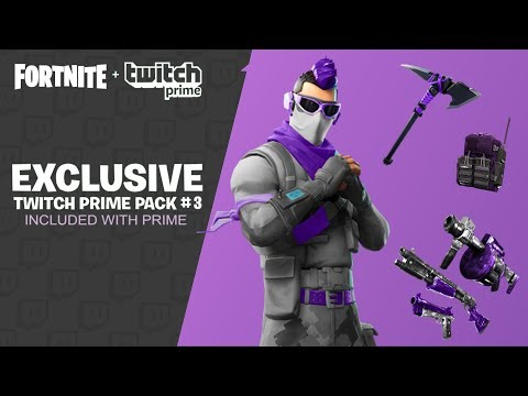 fortnite twitch prime pack 3 release date free prime pack 3 skins - fortnite twitch prime pack 3 leak