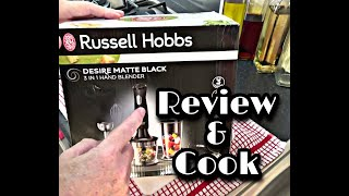 Russell Hobbs 2470 Hand Blender | Review & Cook |The Urban Cook