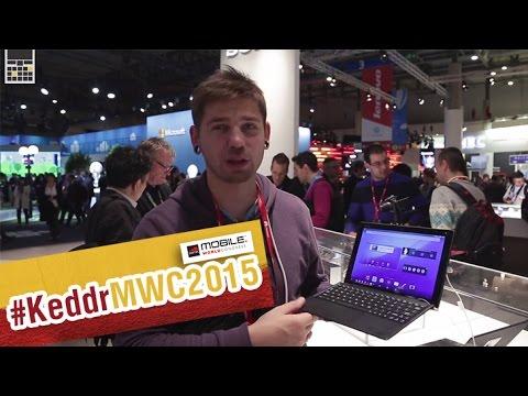 Sony xperia z4 tablet - первый взгляд на планшет - mwc 2015