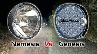 Jamie Benaud compares FYRLYT NEMESIS 9000 to Lightforce GENESIS LED driving lights. Choosing premium