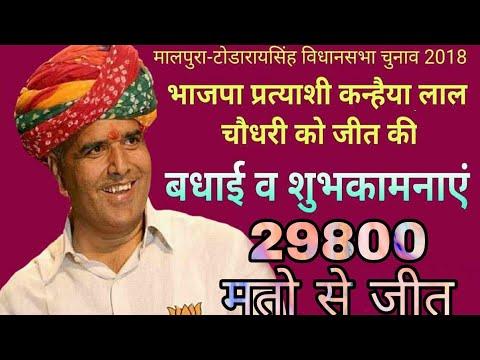 Lamba Hari Singh - लाम्बा हरी सिंह में कन्हैया लाल जी की जीत का जश्न मानते हुए ग्रामीण