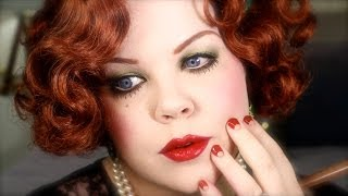 1930s Makeup Tutorial Old Hollywood Glamour ♥ Historically Accurate Tutorial
