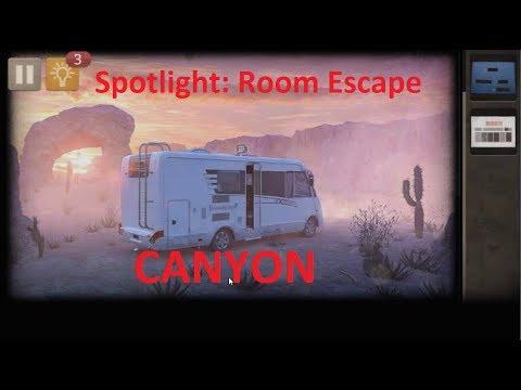 Spotlight Room Escape  - The Canyon - Каньон.