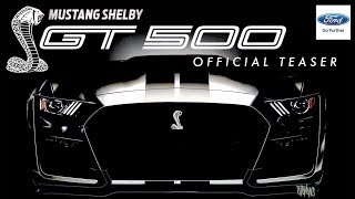 2019 Shelby GT500: FIRST LOOK! (Official Teaser & Everything We Know)
