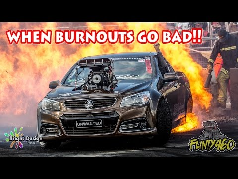When Burnouts Go Bad