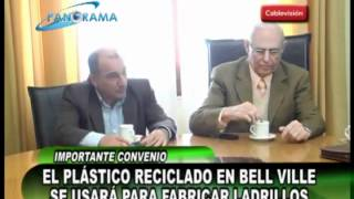 preview picture of video 'El plástico reciclado en Bell Ville se usará para fabricar ladrillos'
