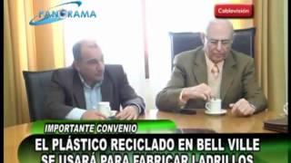 preview picture of video 'El plástico reciclado en Bell Ville se usará para fabricar ladrillos'