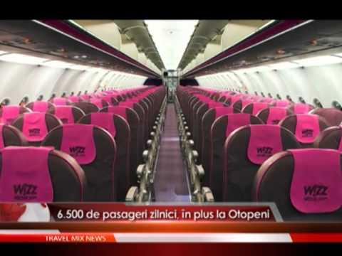 6.500 de pasageri zilnici, in plus la Otopeni.