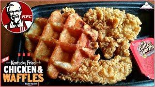 KFC® | Kentucky Fried Chicken & Waffles Review! 🐔💯😊
