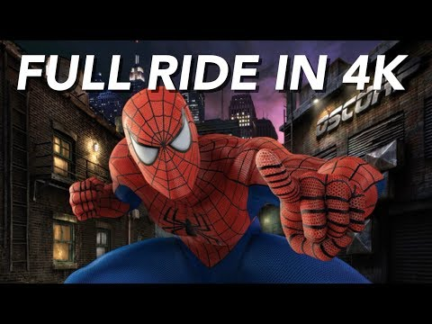 Download [4k] The Amazing Adventures of Spider-Man The Ride | Islands of Adventure Mp4 HD Video and MP3