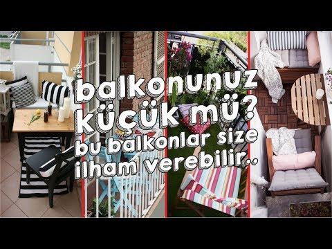 Küçük Balkon Dekorasyonu İçin Öneriler