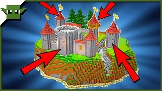 Minecraft Castle Towers Tutorial Minecraftvideos Tv