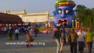 People enjoying at Ramoji