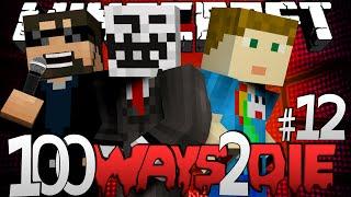 Minecraft 100 Ways To Die | Pink Hair Dye Challenge [12]