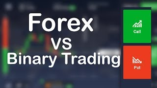 Difference Between Forex and Binary Options Trading - Binary Option vs Forex Trading Differences