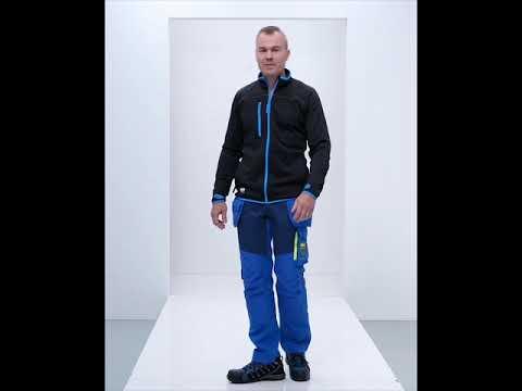 Pantalon Aker avec poches porte-outils bleu taille 40