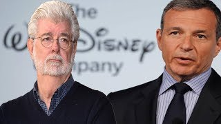 The Fallout between George Lucas and Disney