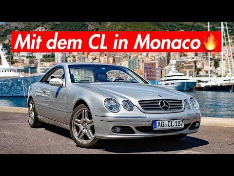 1000€ Strafe und 120 Stunden konfisziert in Monaco   RB Engineering   Mercedes Benz C215 CL 500