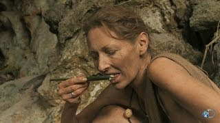 Grubs: A Tasty Jungle Snack | Naked and Afraid