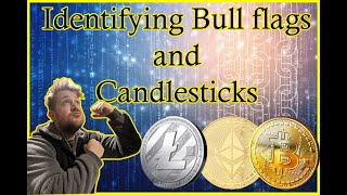 What are Candle sticks - What is a bull Flag - Easy, quick tutorial