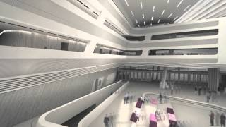 Library & Learning Centre - University Of Economics Vienna © Zaha Hadid Architects